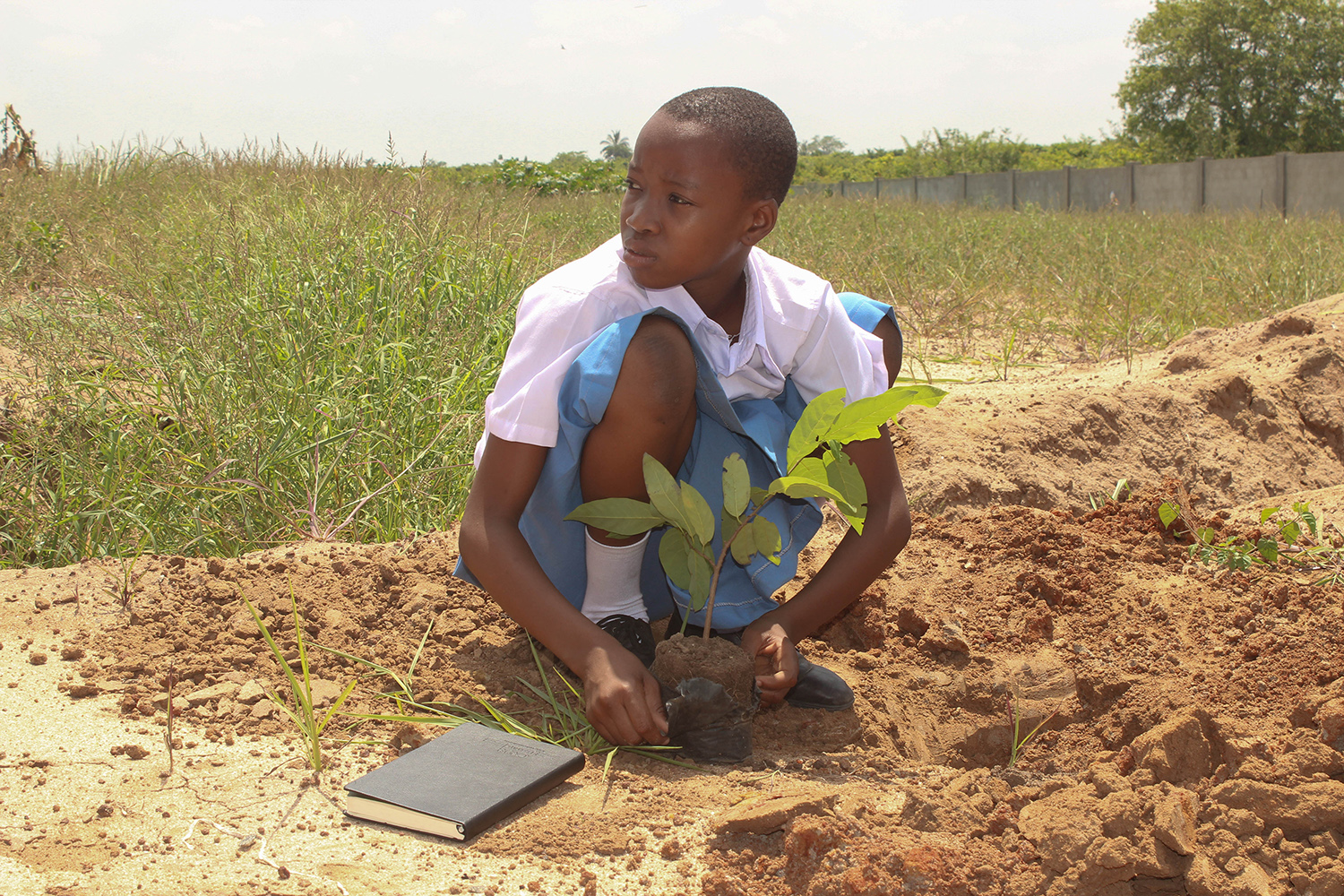 Africa- instill the love for environment in children